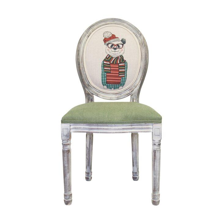 Стул Volker green bear ver.2 | Обеденные стулья Kingsby