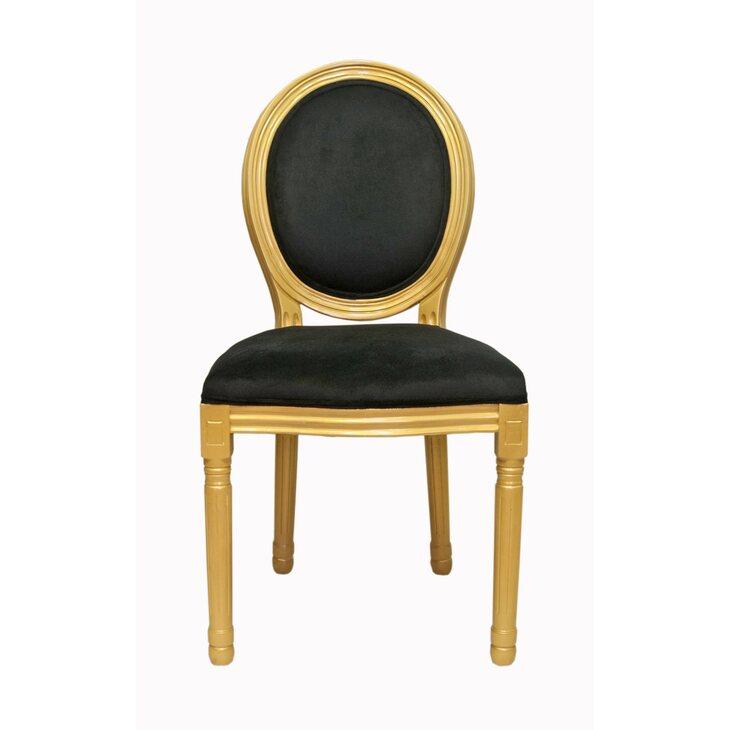 Стул Volker black gold | Обеденные стулья Kingsby