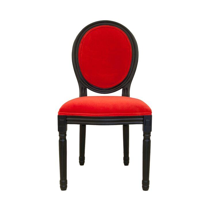 Стул Volker red | Обеденные стулья Kingsby