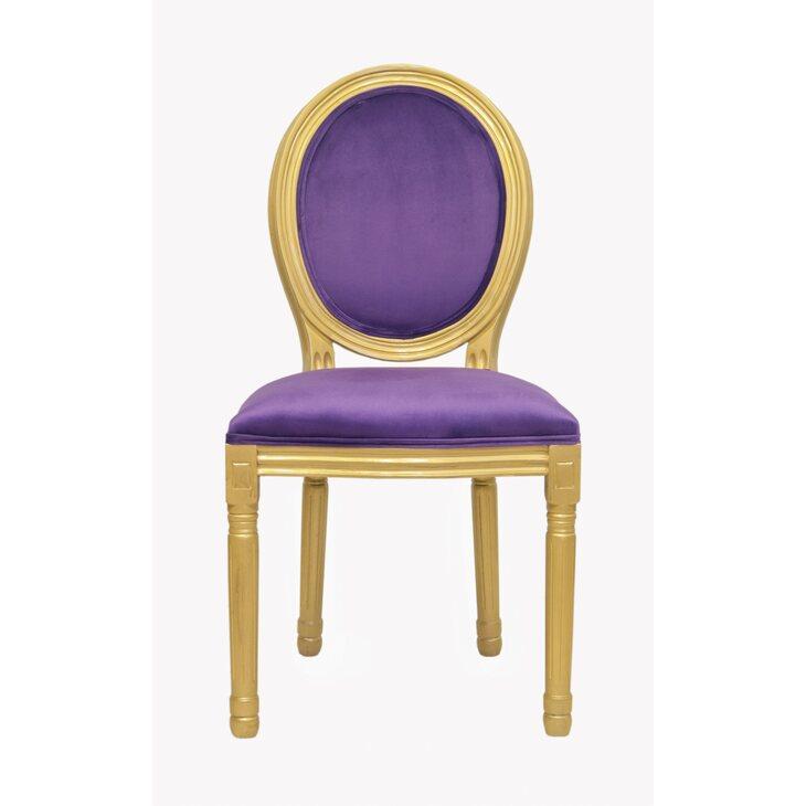 Стул Volker violet gold | Обеденные стулья Kingsby