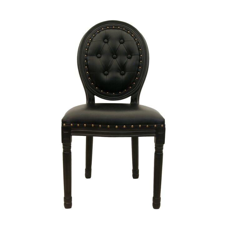 Стул Volker button black | Обеденные стулья Kingsby