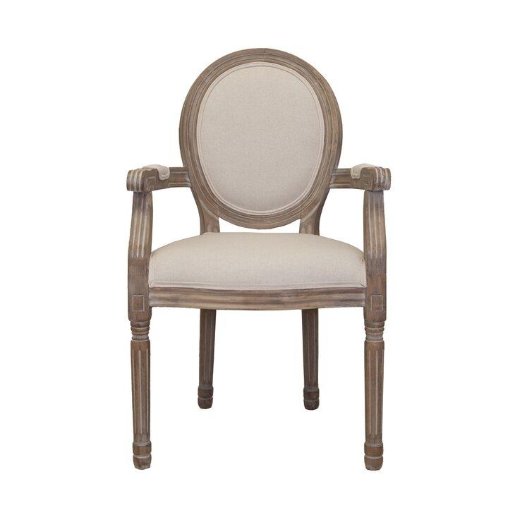 Стул Volker arm beige   Обеденные стулья Kingsby