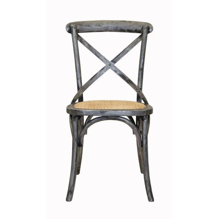 Стул Cross back silver   Обеденные стулья Kingsby