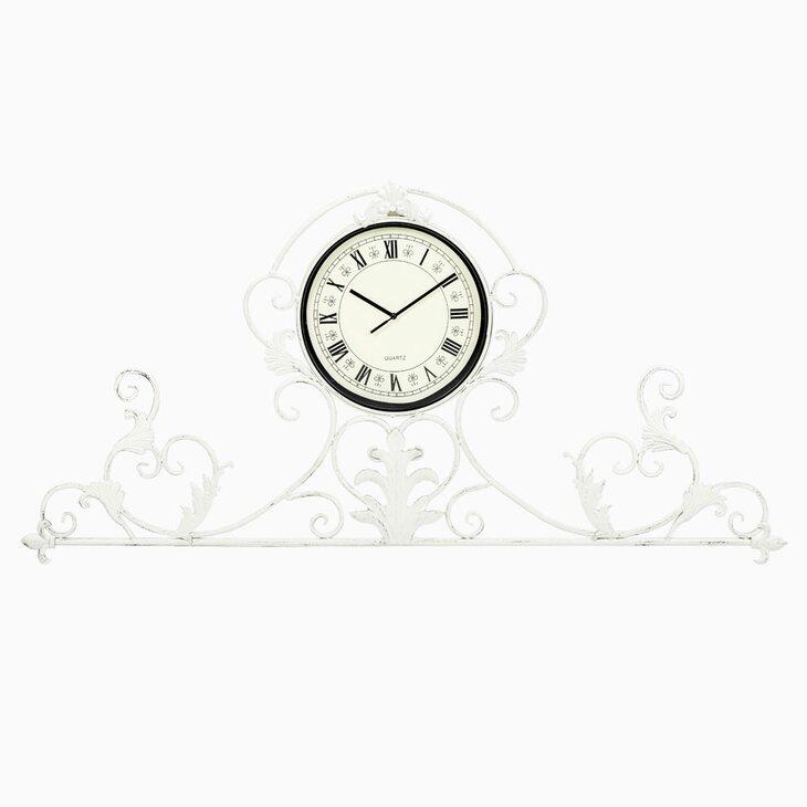 Настенные часы «Артуа» (белый антик) | Настенные часы Kingsby