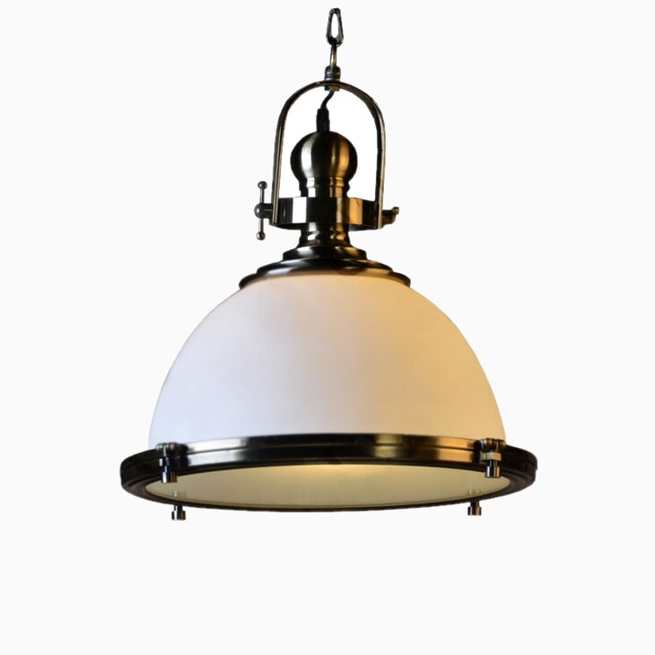 Подвесной светильник Tomoka milk | Подвесные светильники Kingsby