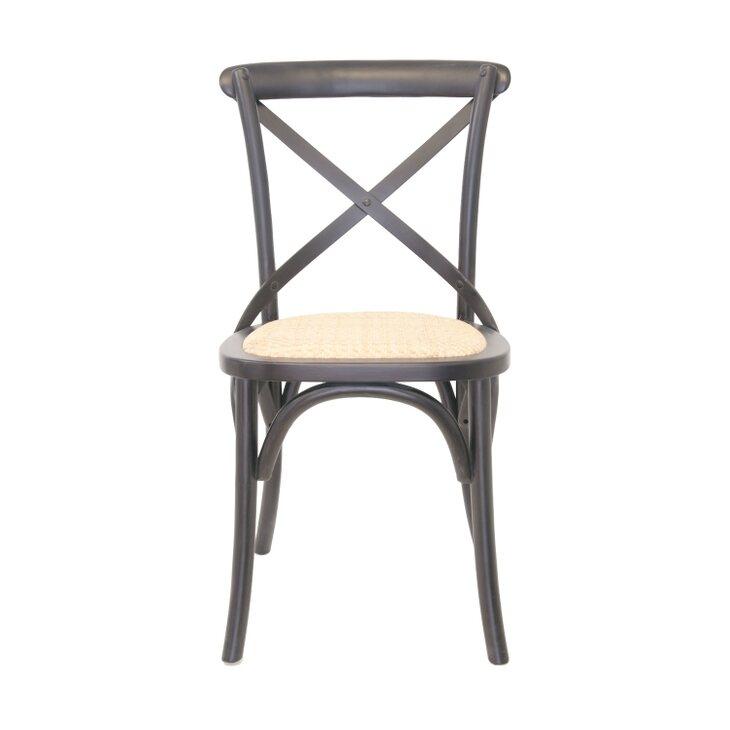 Стул Cross back black | Обеденные стулья Kingsby