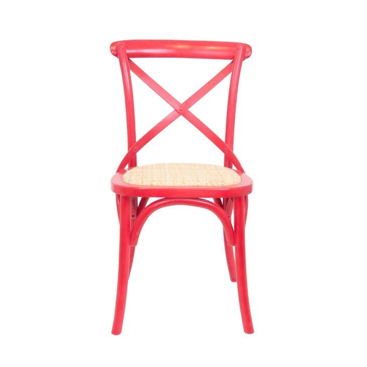 Стул Cross back red | Обеденные стулья Kingsby