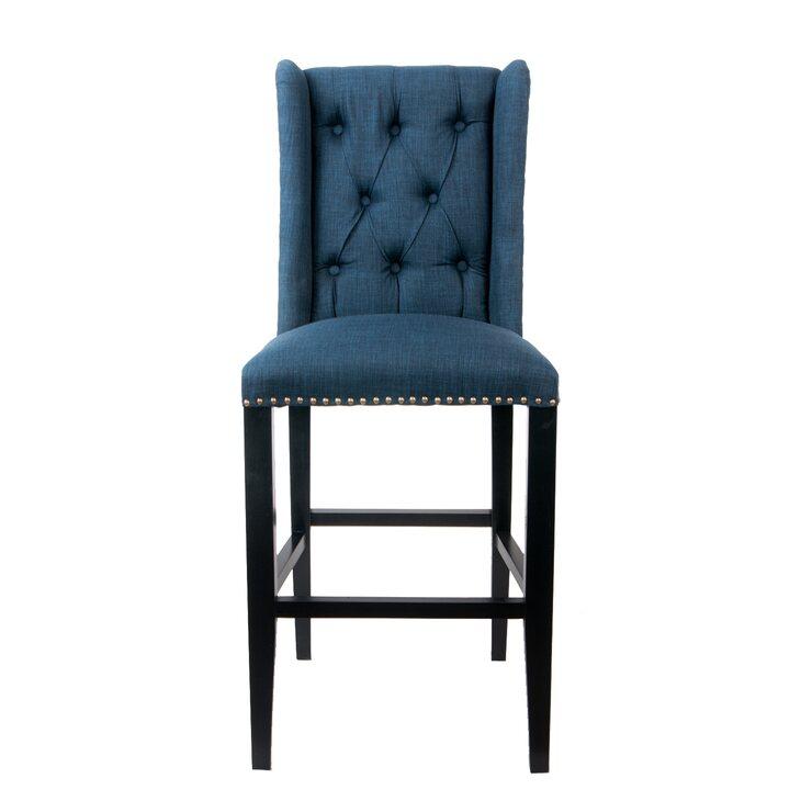 Стул Skipton blue | Барные стулья Kingsby