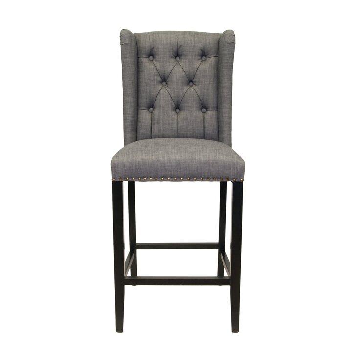 Стул Skipton grey | Барные стулья Kingsby