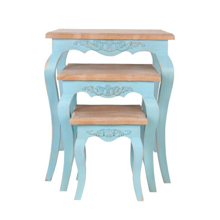 Комплект столиков Kira | Журнальные столики Kingsby
