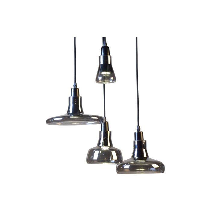 Подвесной светильник Boretto smoke glass | Подвесные светильники Kingsby