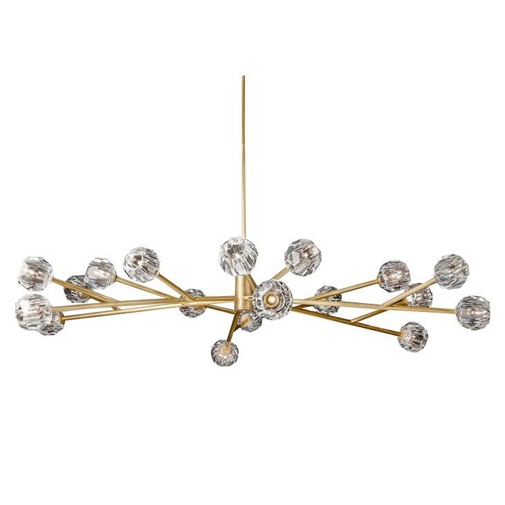Подвесная люстра Boule de cristal D150 | Подвесные люстры Kingsby