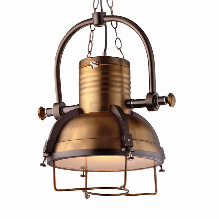 Подвесной светильник Fork Brass | Подвесные светильники Kingsby
