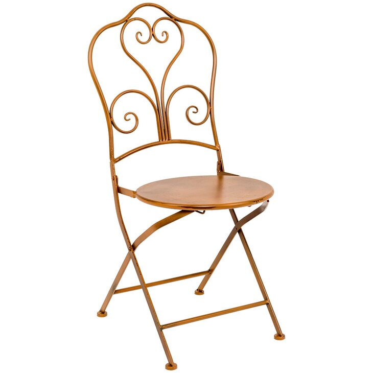 Складной стул «Жарден» (карамель)   Обеденные стулья Kingsby