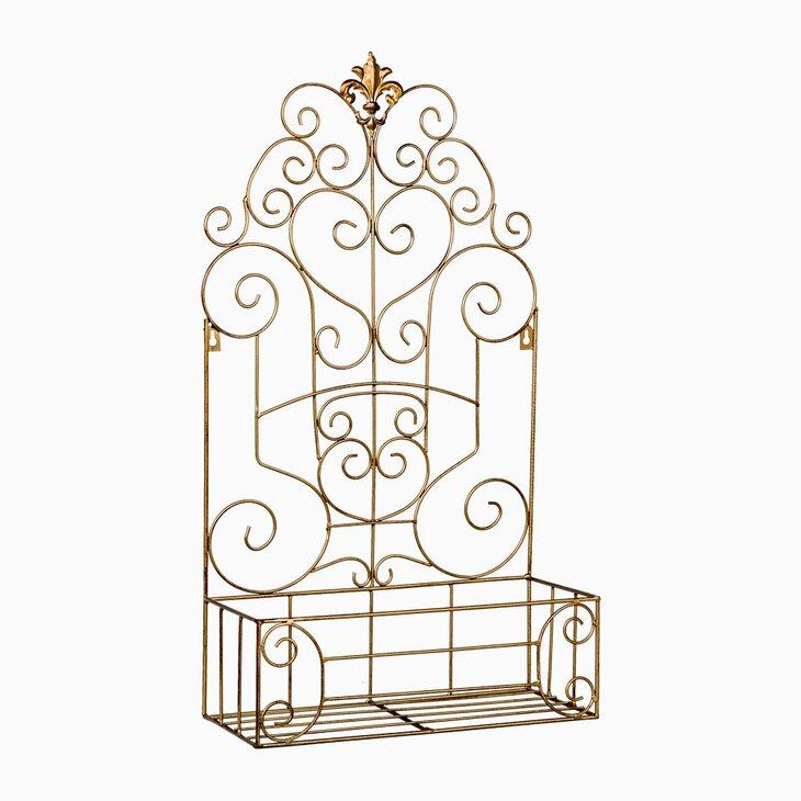 Полка-жардиньерка «Люксембургский сад» (бронзовый антик, версия L) | Полки Kingsby