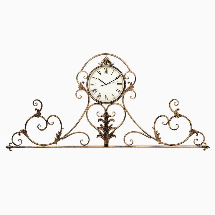 Настенные часы «Вуаль-Руж» (королевская бронза) | Настенные часы Kingsby