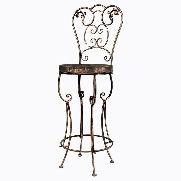 Барный стул «Болеро» (королевская бронза) | Барные стулья Kingsby
