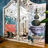 Настенное зеркало «Монтанер» (белый антик) 4 | Настенные зеркала Kingsby