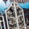 Настенное зеркало «Монтанер» (белый антик) 8 | Настенные зеркала Kingsby