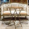 Складной стул «Жарден» (карамель) 2 | Обеденные стулья Kingsby