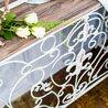 Консоль «Королевская лилия» (белый антик, версия М) 2   Консоли Kingsby