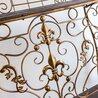 Консоль «Королевская лилия» (бронзовый антик, версия L) 5 | Консоли Kingsby